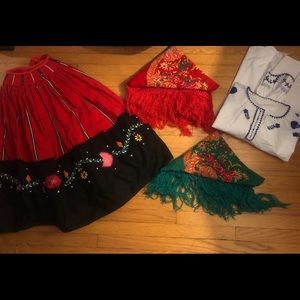 Other - Red Rancho outfit. Brought from Portugal.